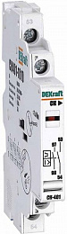 CК401-1010 Контакт сигнальный 2НО для ВА-401 DEKraft Schneider Electric. Вид 1
