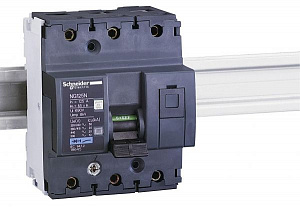 NG125N Автомат 3-полюсный 80А 50кА (хар-ка B) Schneider Electric. Вид 1