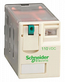 Реле 2 co 110в пост тока Schneider Electric