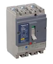 CVS 160B 3P TM125D Термо-магнит. 3х-полюс. автомат 125А 25kA, подключ. под шину Schneider Electric. Вид 1