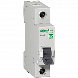 Автомат 1-полюсный 6А 4,5кА (хар-ка C) EASY 9 Schneider Electric