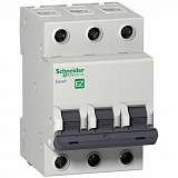 Автомат 3-полюсный 25А 4,5кА (хар-ка B) EASY 9 Schneider Electric