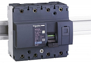 NG125N Автомат 3-полюсный с нейтралью 3P+N 125А 25kA (хар-ка C) Schneider Electric. Вид 1